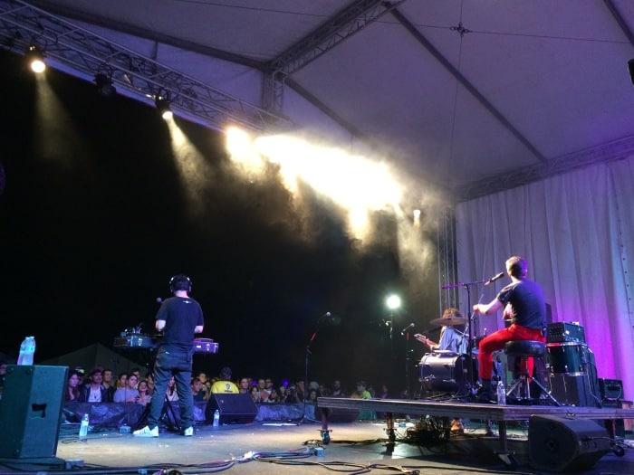 GEPE performing live. Elizabeth Lang/ The Tico Times