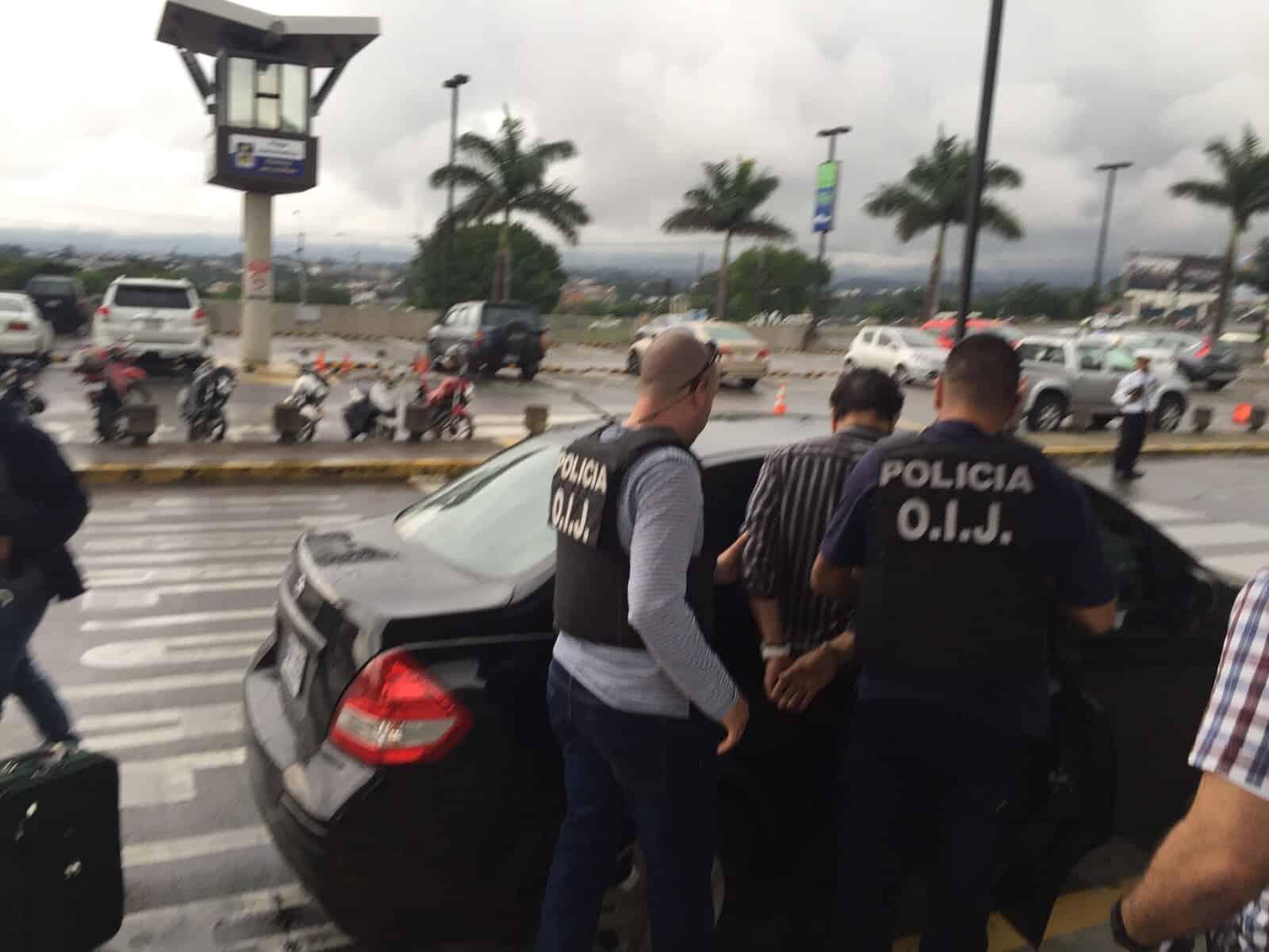 Costa Rica rape suspect arrested