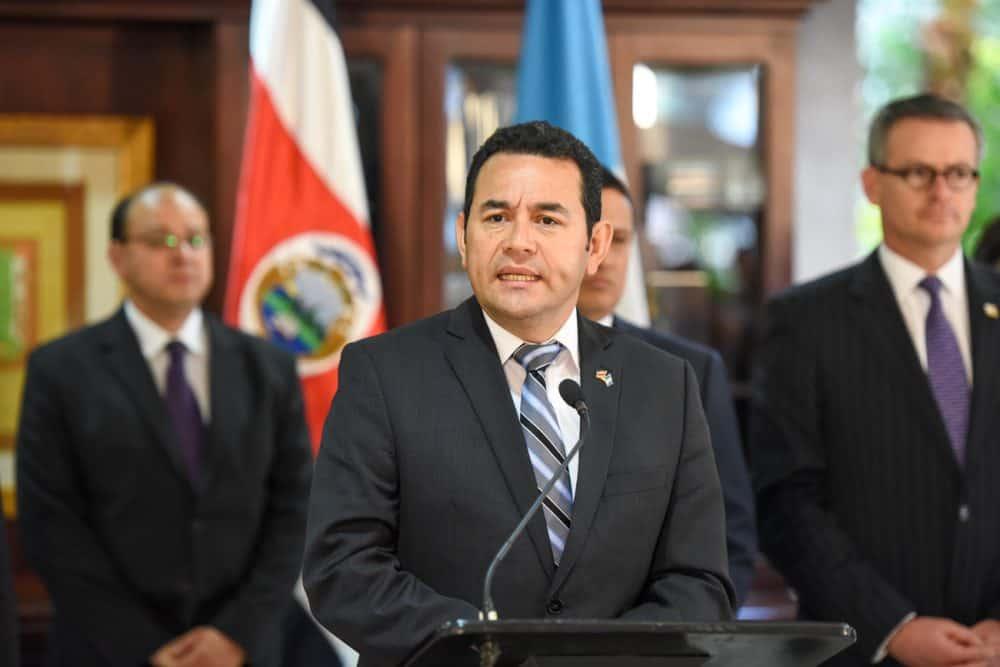 Guatemala President-elect Jimmy Morales