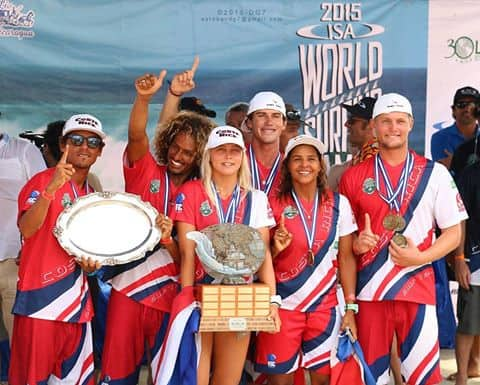 Costa Rica surf: ISA World Games