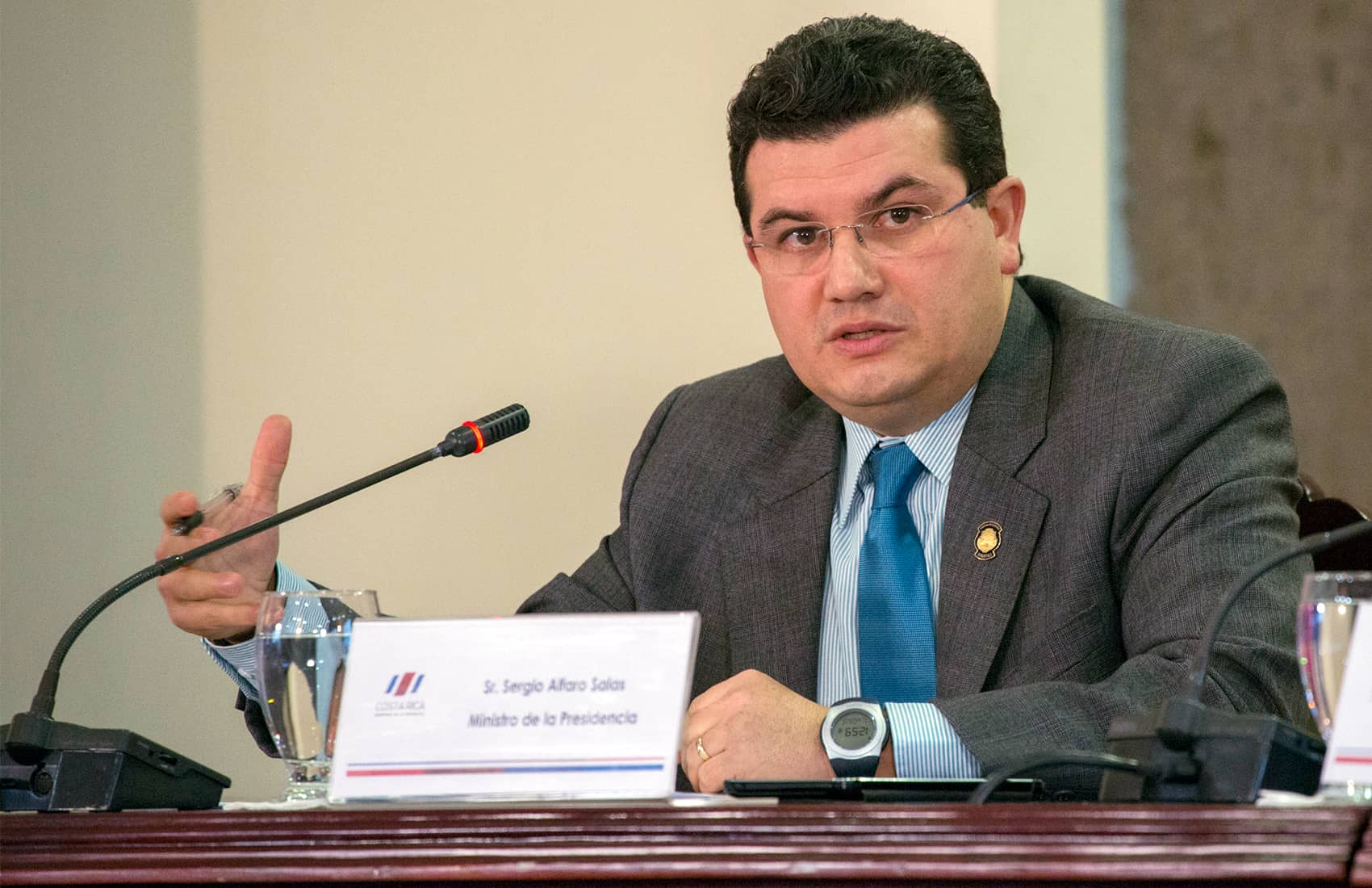 No fiscal reform yet: Presidency Minister Sergio Alfaro
