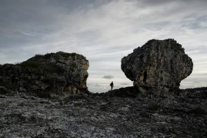 giant boulders in the Bahamas
