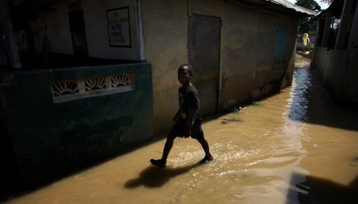 Natural disasters: floods in Haiti