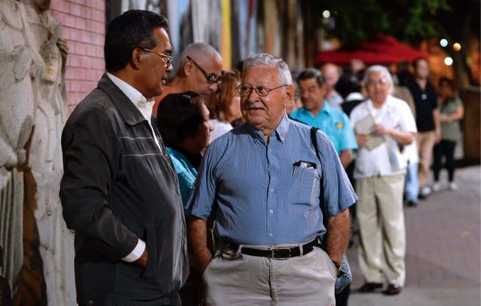 Venezuela elections, voters in Caracas