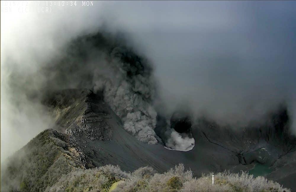 Turrialba Volcano, Dec. 7, 2015