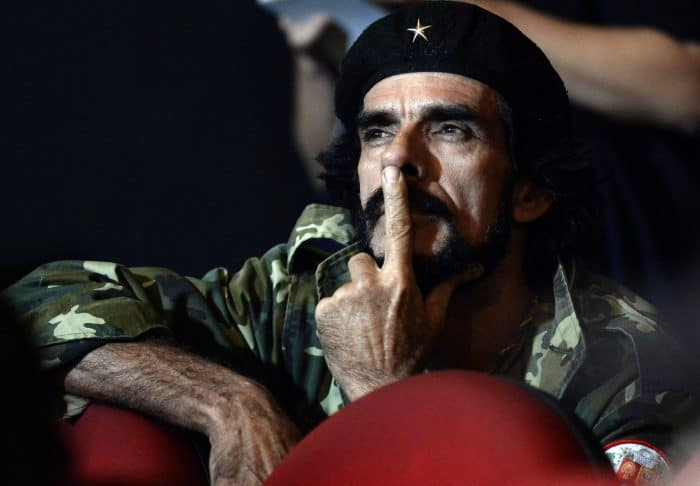 Venezuela elections, Che-looking guy