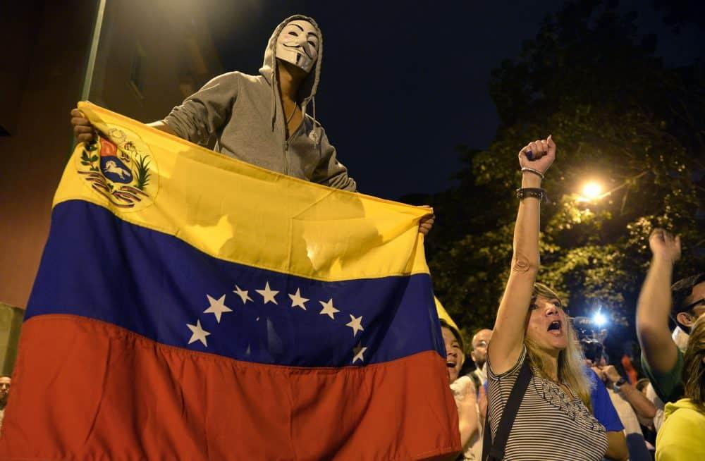 Venezuela opposition celebrates