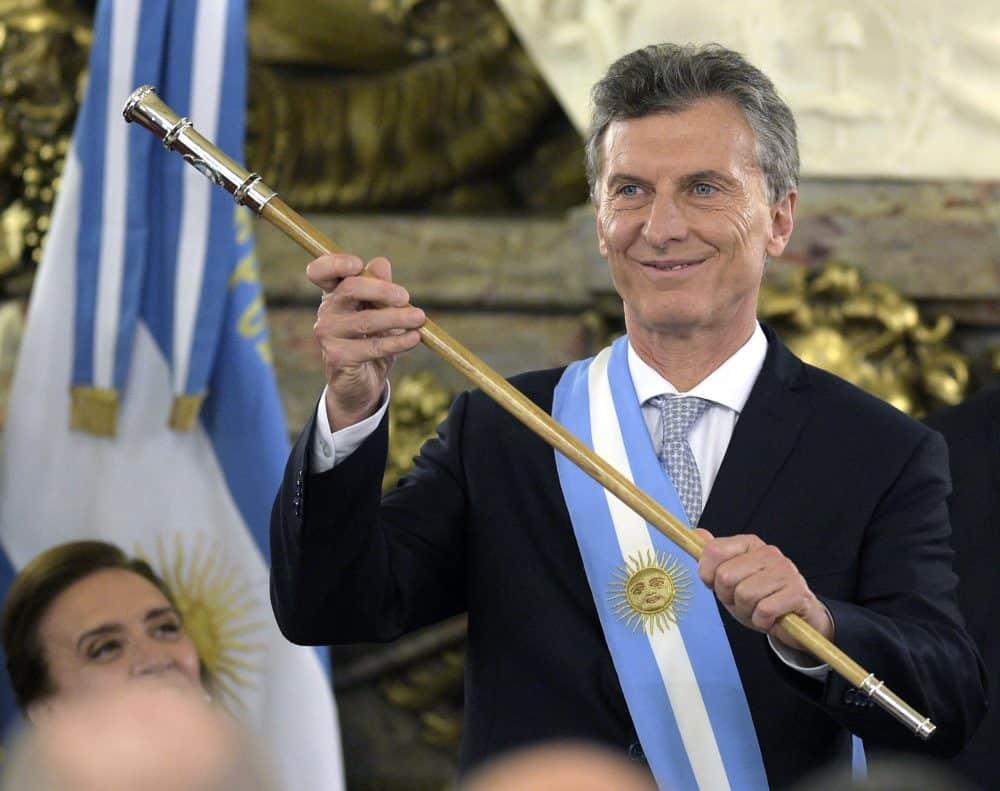 Argentina President Mauricio Macri