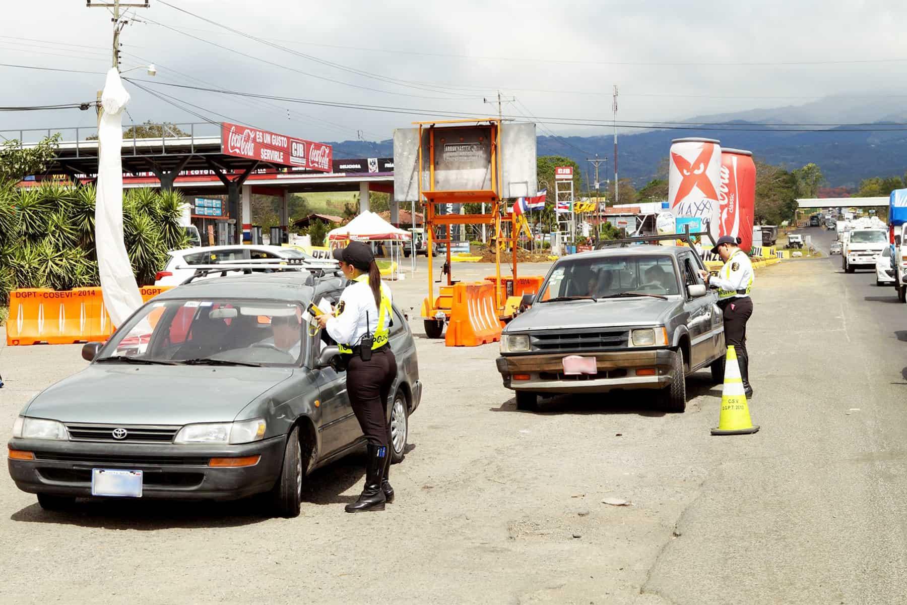 vehicle restrictions san jose costa rica