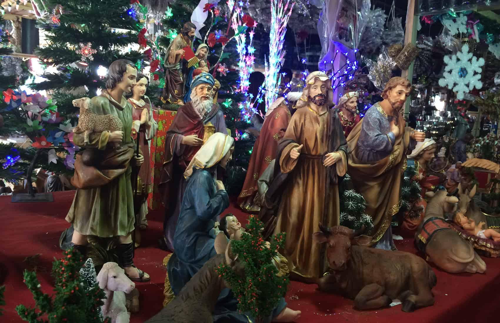 Costa Rica Nativity: Mary, Joseph and Baby Jesus
