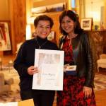 Costa Rica's Christiana Figueres honored for UN climate work