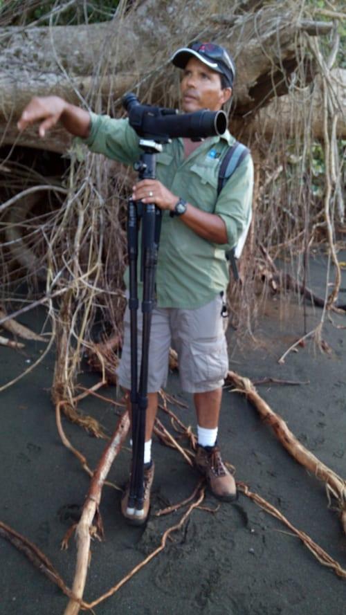 Tour guide Vincent Campos.