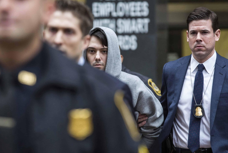 Pharma Bro Martin Shkreli arrest