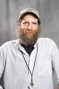 "John Ross, ""Rebel Reporting"" co-editor Norman Stockwell."