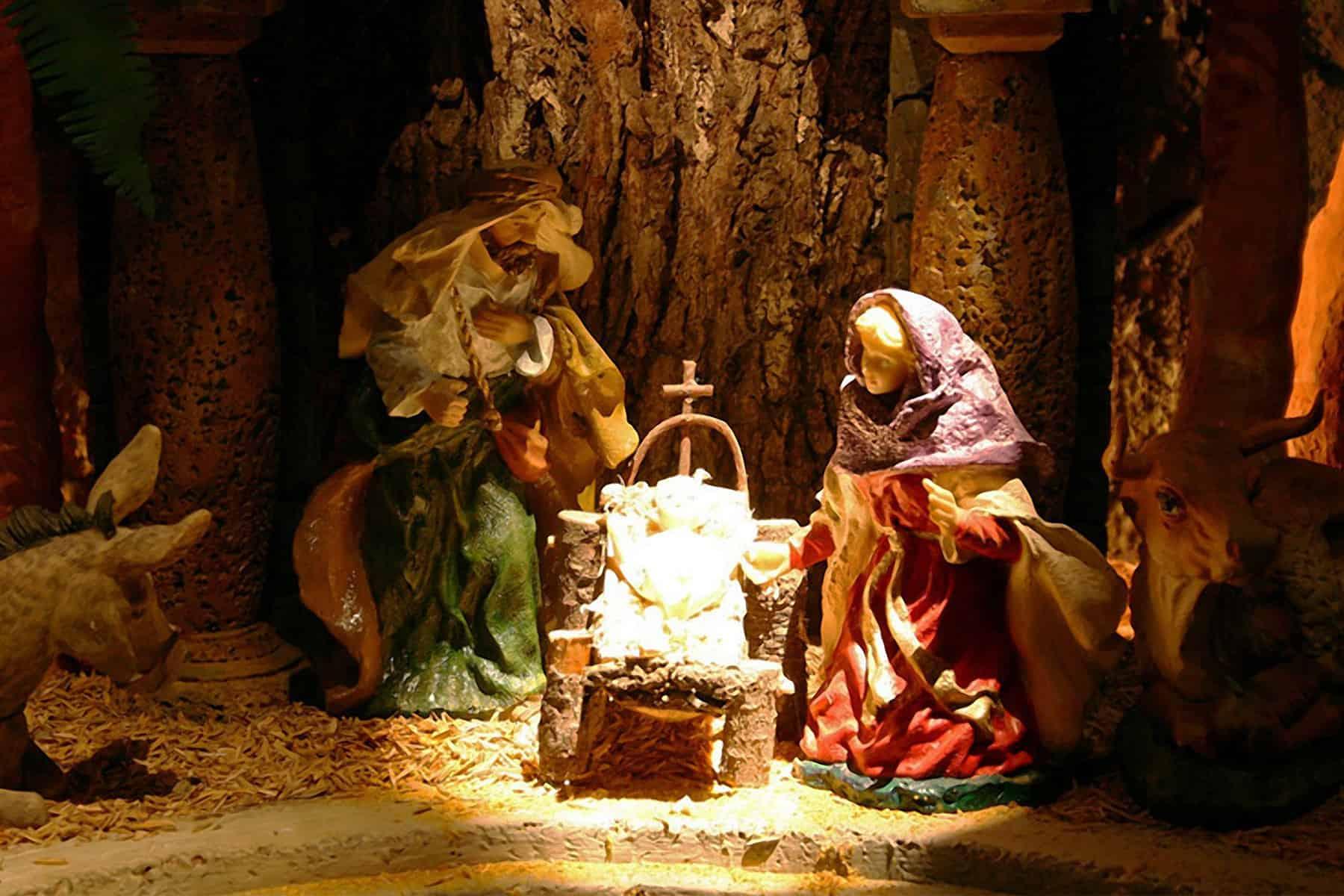Costa Rica holidays: A nativity scene