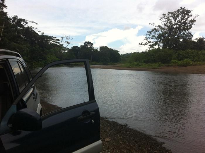 Success! River crossed.