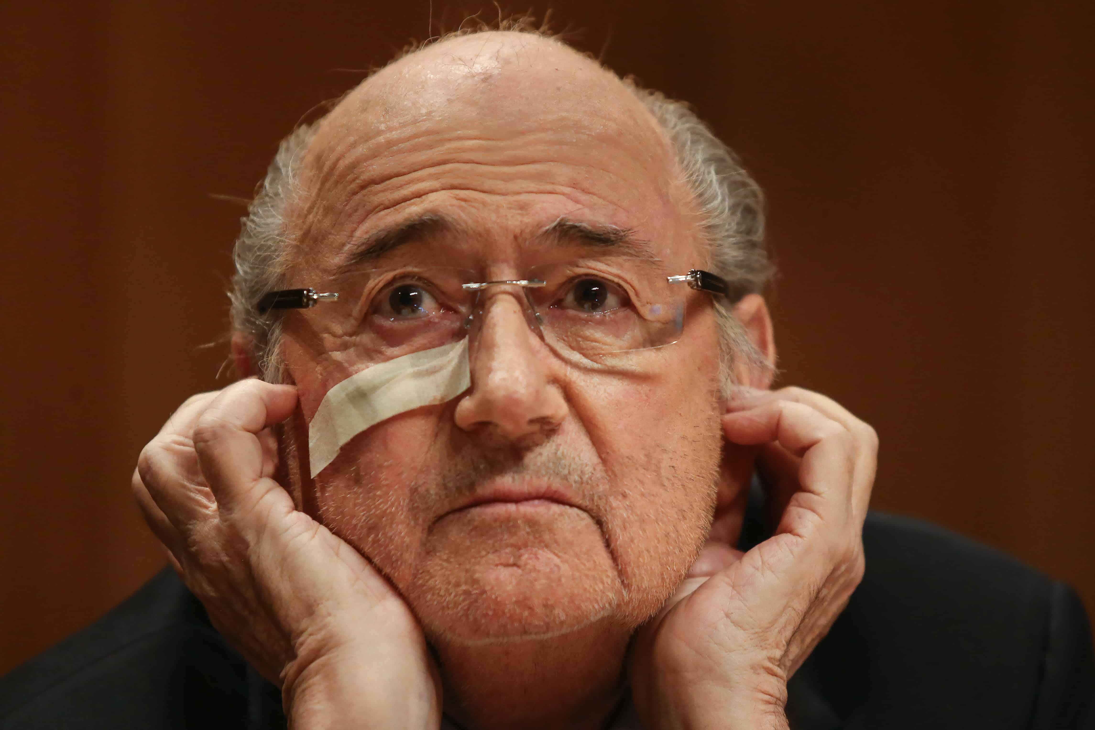 FIFA ex-president Sepp Blatter