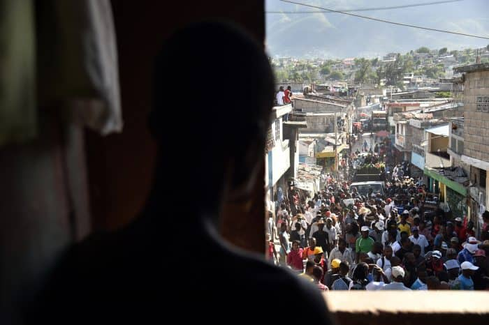 Haiti elections protest