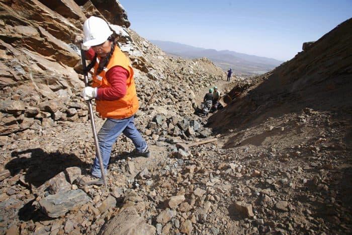 Latin America: Chile copper mine