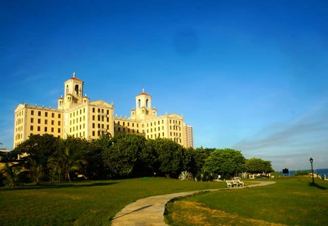 The Hotel Nacional de Cuba was built in 1930.