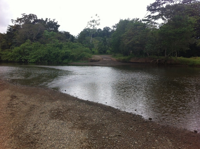 The Río Drake.