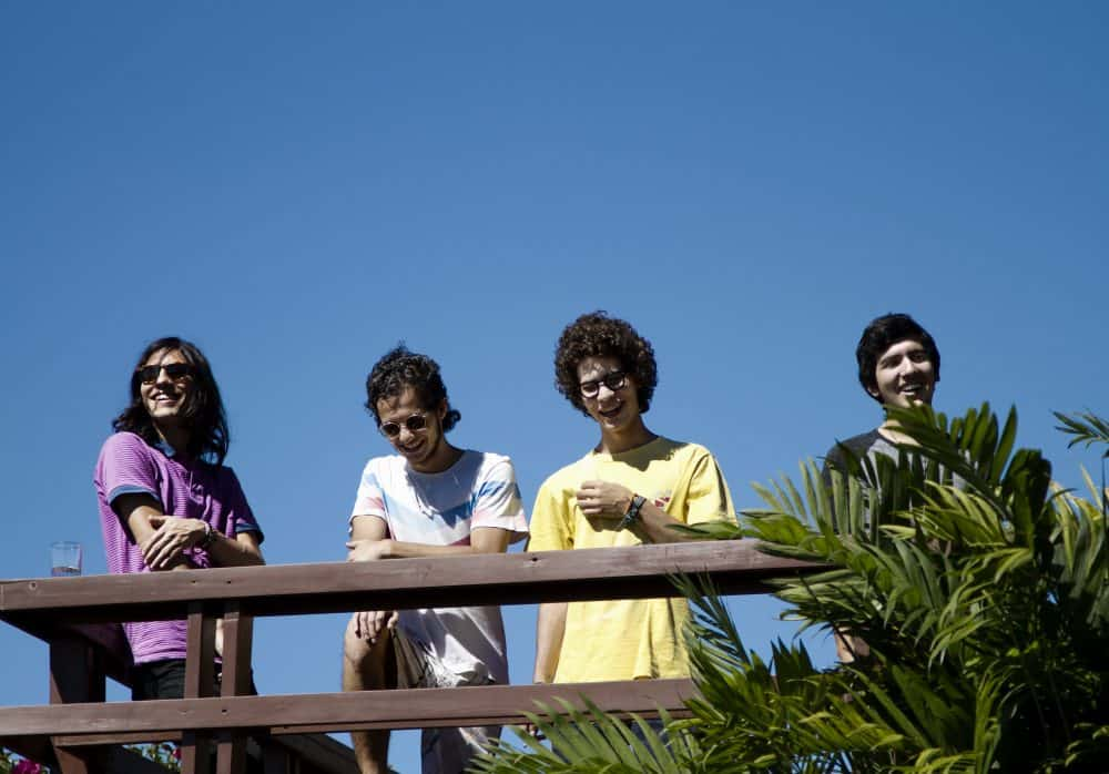 Zòpilot! members from left to right: Marco Alfaro, Andrés Araya, Franco Valenciano, and David Bolaños. [Courtesy Zòpilot!]