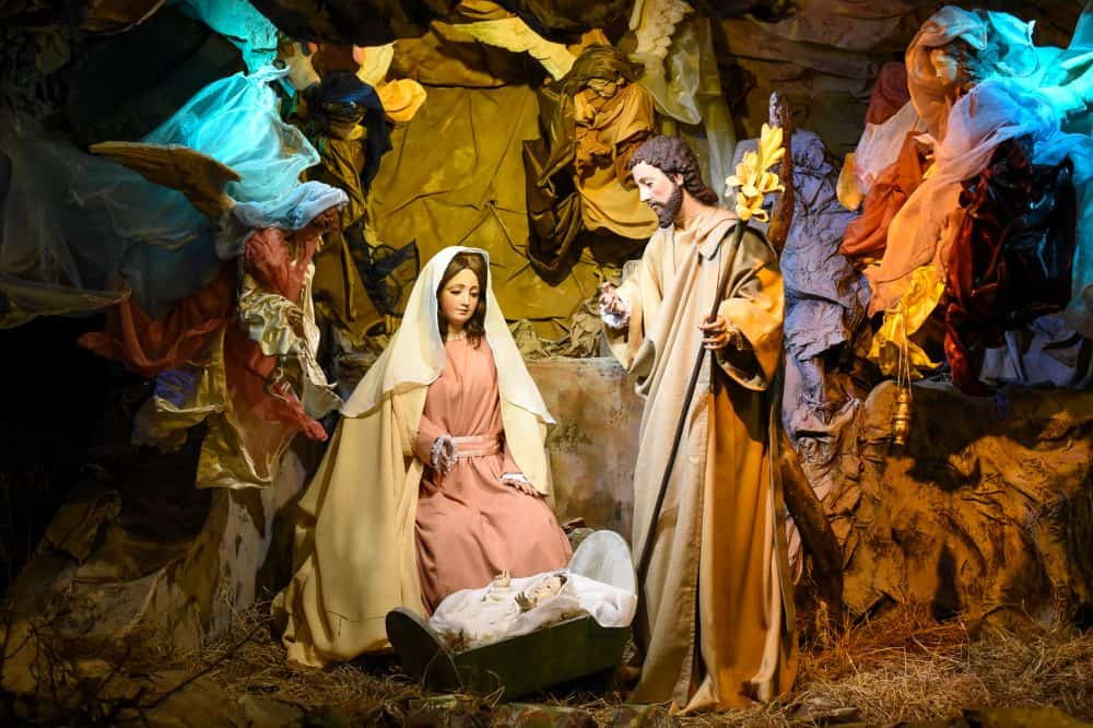 Costa Rica National Theater nativity scene