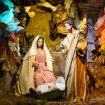 National Theater inaugurates nativity scene