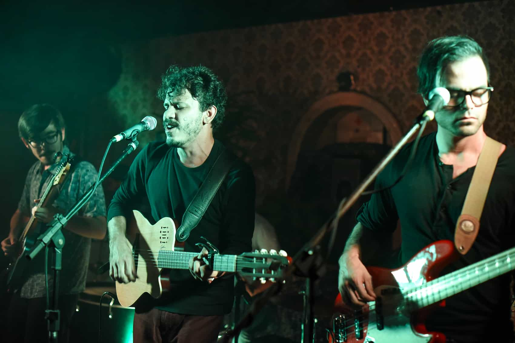 Bird and Fish performs at the Hoxton Pub in Los Yoses, December 3, 2015.