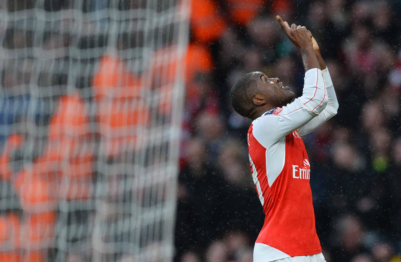 Arsenal's Joel Campbell