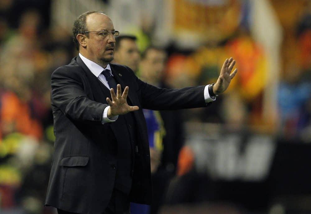Real Madrid ex-coach Rafael Benítez