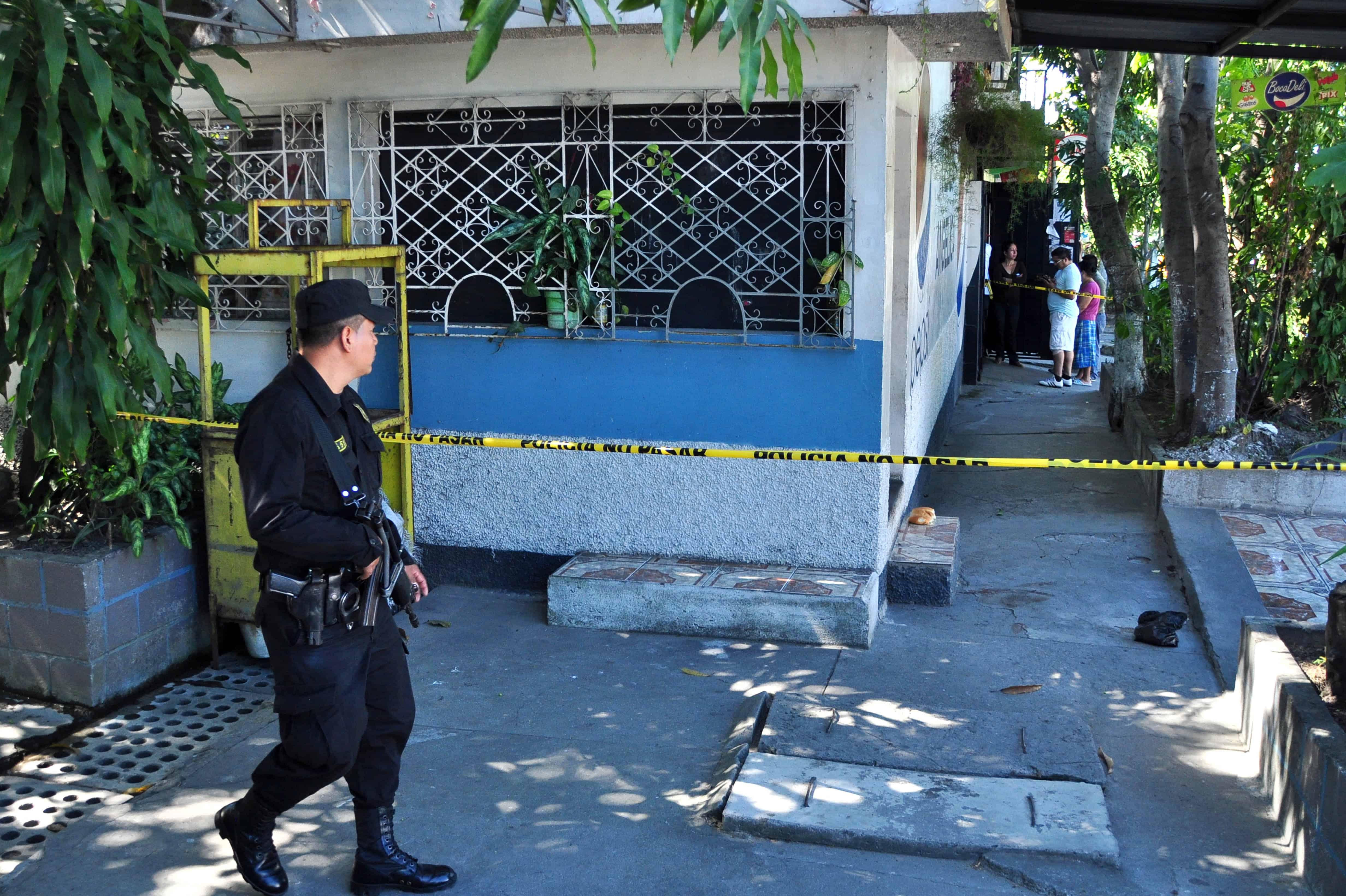 Northern Triangle violence: El Salvador