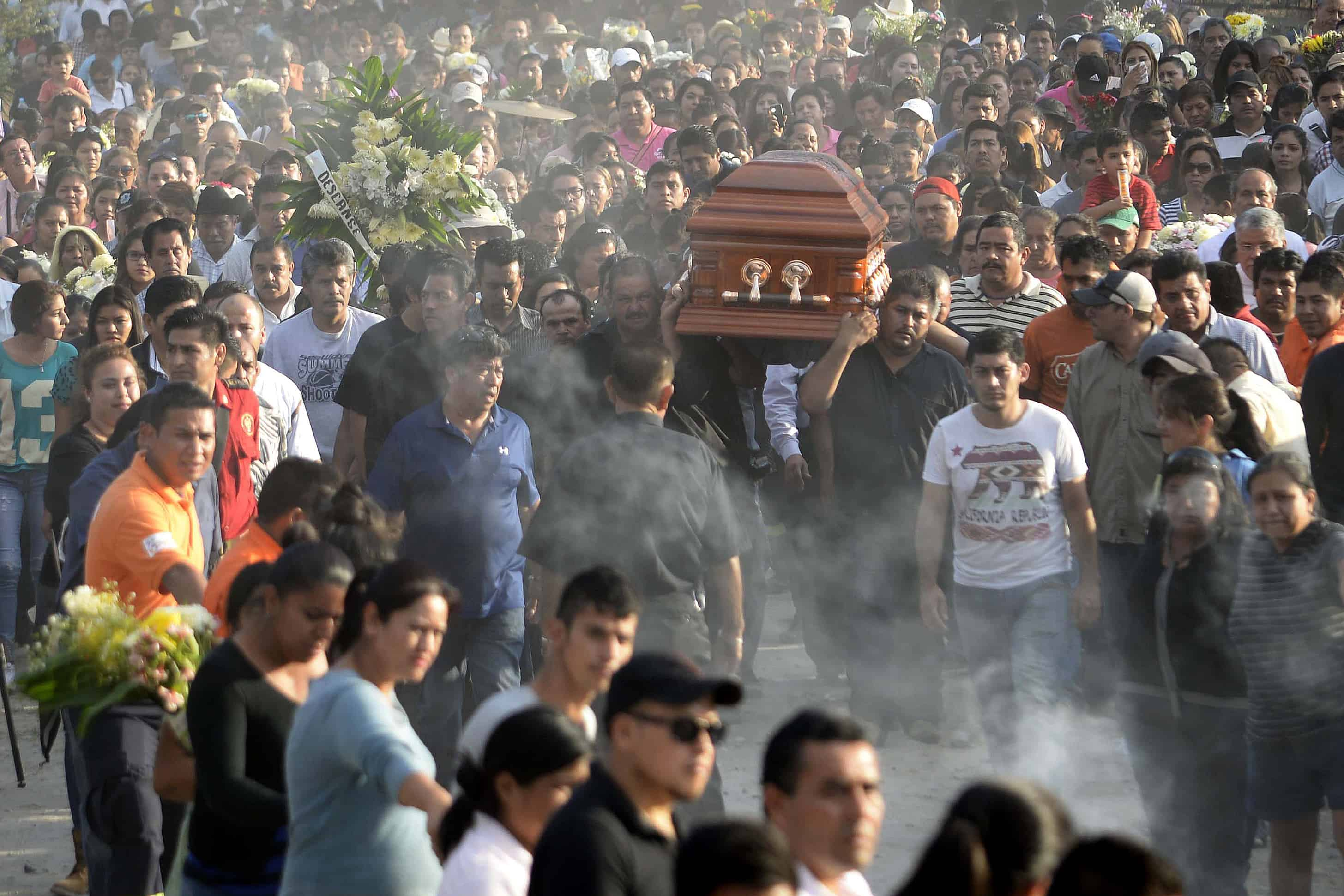 Mexico Mayor Gisela Mota funeral