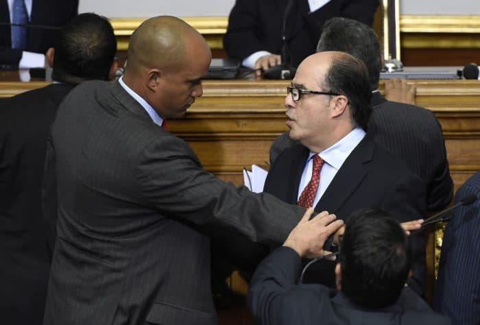 Venezuela opposition lawmaker Julio Borges