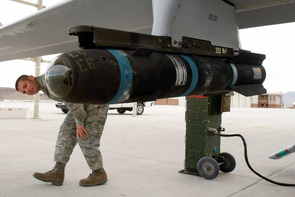 Hellfire missile, Pentagon, U.S. Air Force