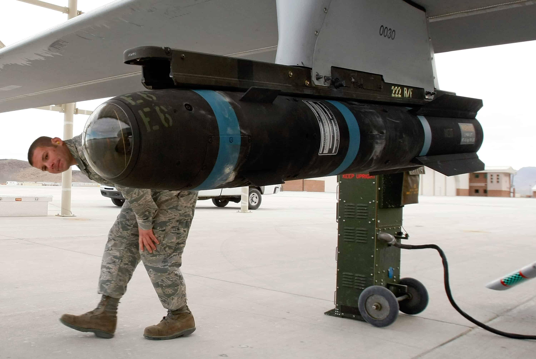 Hellfire missile, Pentagon, U.S. Air Force