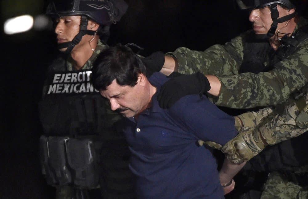 "Mexico drug kingpin Joaquín ""El Chapo"" Guzmán"