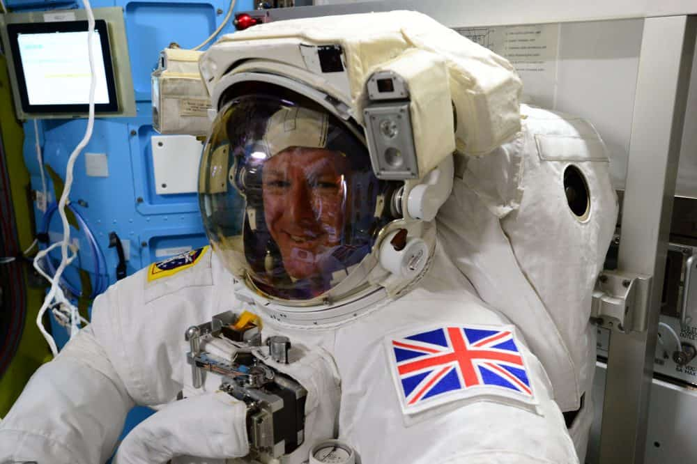 David Bowie fan and astronaut Tim Peake