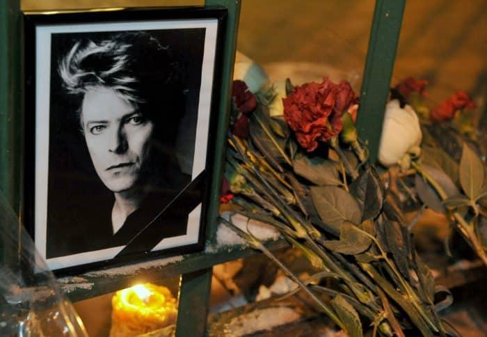 David Bowie memorial