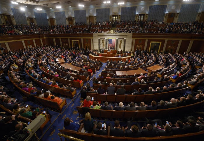 U.S. President Barack Obama delivers the State of the Union Address