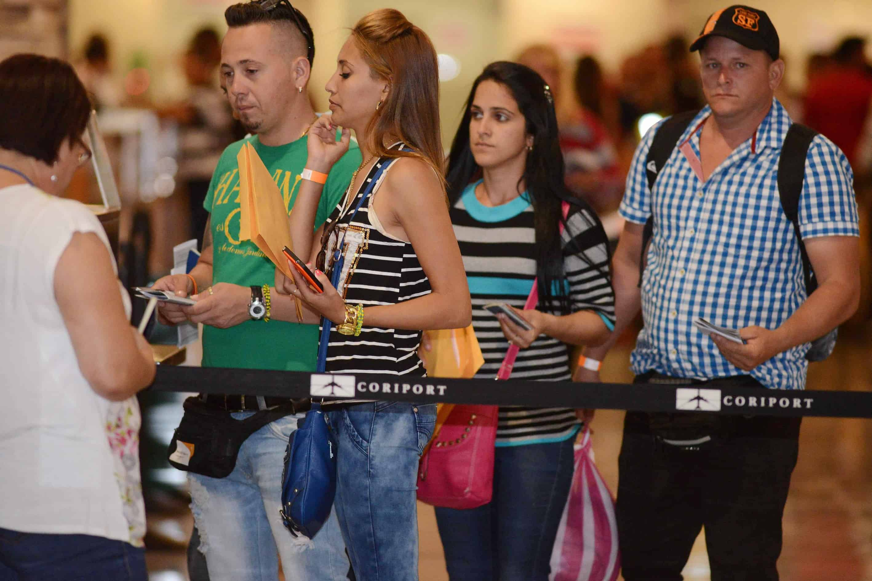 Cuban migrants in Central America