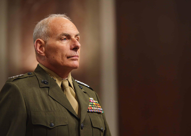U.S. Marine Corps Gen. John Kelly