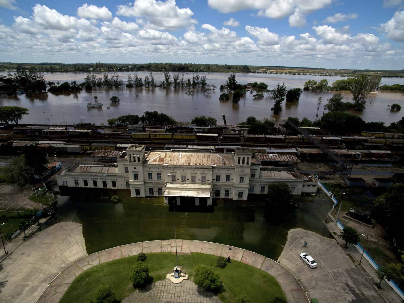 El Niño flooding Argentina