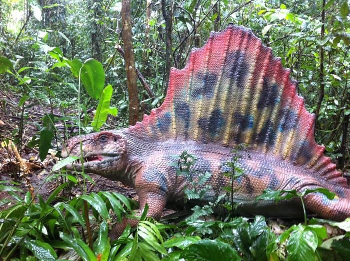 Dimetrodon.