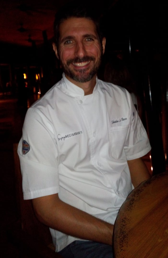 Sebastián La Rocca, culinary director for the Enjoy Group of hotels and restaurants.