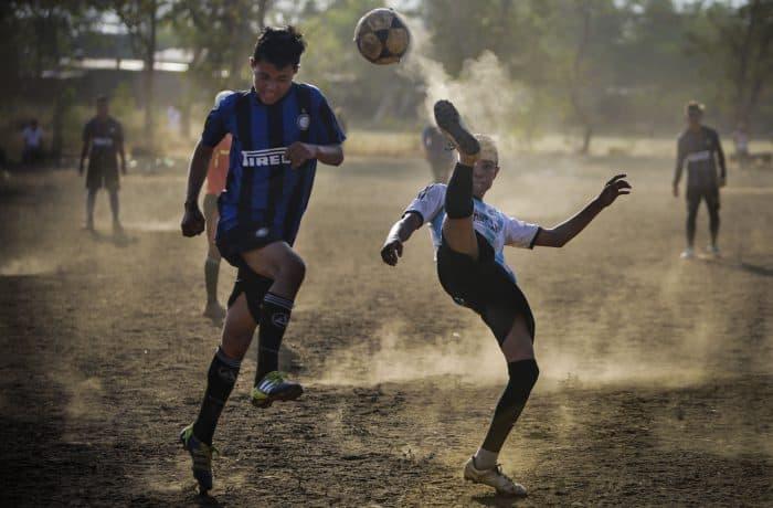 Nicaragua football in Managua