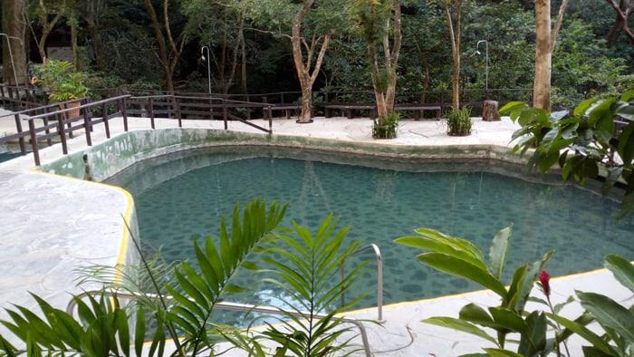 One of Buena Vista Lodge's hot pools.