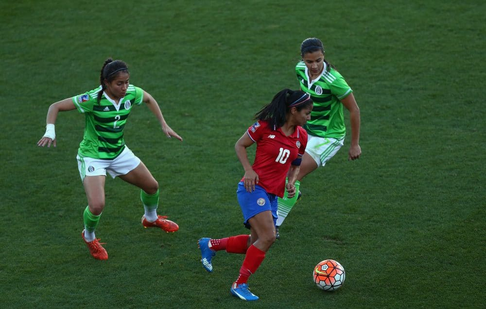 Shirley Cruz, Costa Rica women's soccer
