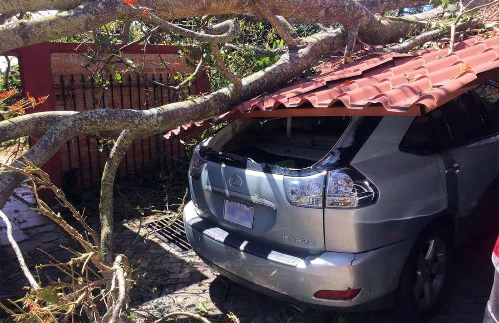 Costa Rica weather, Feb. 10, 2016.