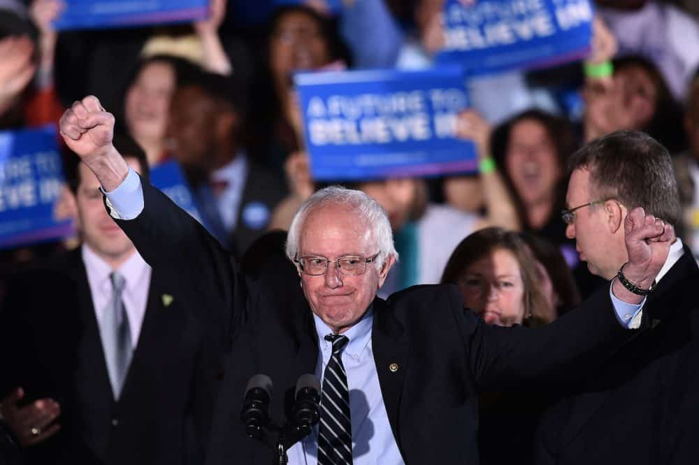 New Hampshire primaries: Bernie Sanders